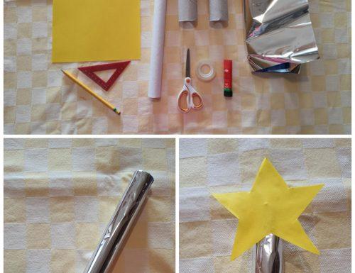 Gioco per bambini: spada laser o bacchetta magica